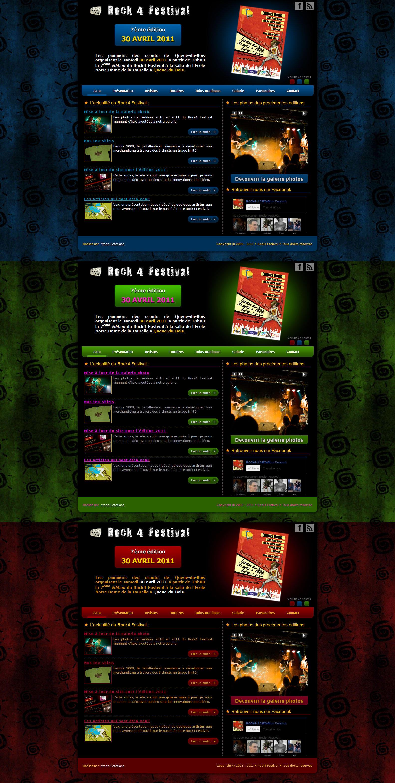 Website - Rock4Festival by Lucifer4671