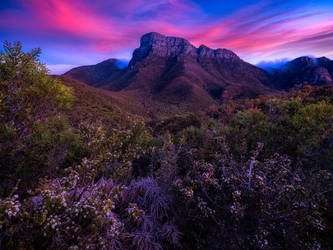 Stirling Ranges Sunset by paulmp