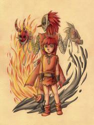 The Story of Maskemane by RoyalThebat