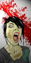 Un-Dead Chica by TheMostUnclean