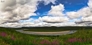 Nordic Landscape by Toni-R