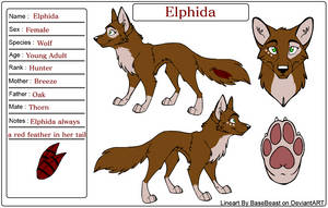 Elphida Reference Sheet by BookPaws