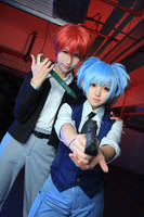 Assassination Classroom Nagisa Shiota cosplay by cosgalaxy