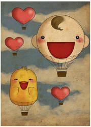 Fanchan  hot-air balloon by FantasyHeart