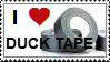 Duck Tape Stamp by charryblossom