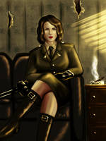 Peggy Carter by pain-art