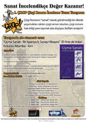 1. CROP Cizgi Roman Inceleme Yazisi Yarismasi by CizgiRomanOkurlari