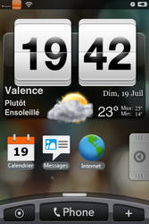 real weatherWidget HTC HERO by besnath