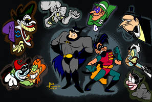 25 Years of BTAS by Lotusbandicoot