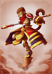 The Monkey King by GaelRice
