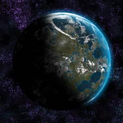 Planet1 by JohnEdwa