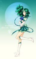 SM: Eternal Sailor Neptune by Kay-I