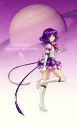 SM: Eternal Sailor Saturn by Kay-I