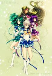 SM: Eternal Outer Senshi by Kay-I