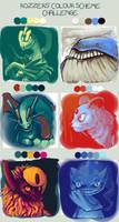 Colour Scheme Challenge (Pokemon) by Shwonky