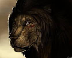 Lion ossan by Shwonky