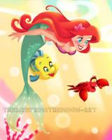 Ariel by TheBirdFromTheMoon