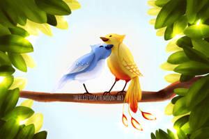 Lovebirds by TheBirdFromTheMoon