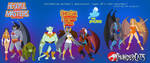 Gargoyles: Super 80s Lineup by Valky
