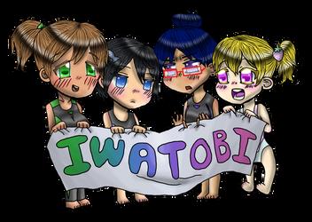 Iwatobi Chibis by Keroanne