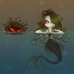 PvZ:Tangle kelp by SiaRyzh