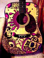 Guitar by vandilism33