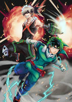 My Hero Academia by VII-Magician