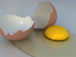 Cracked Egg by Jammurch