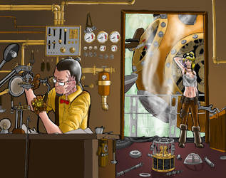 Steampunk Workshop Digital by baos3113