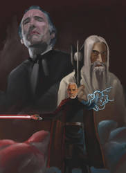 Christopher Lee Tribute by baos3113