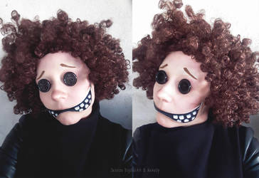 Istant Cosplay: Other Wybie from Coraline by JessieOctober