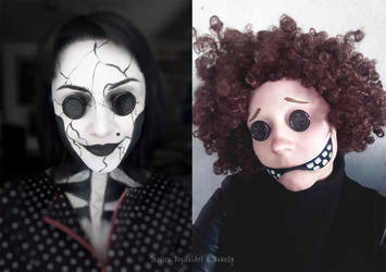 Other Mother and Other Wybie from Coraline by JessieOctober