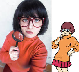 Velma from Scooby-Doo by JessieOctober