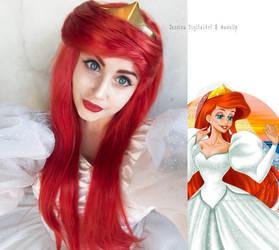 Ariel's Wedding Dress by JessieOctober
