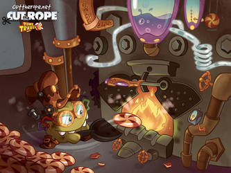 Cut The Rope Time Travel by Evelyn2d