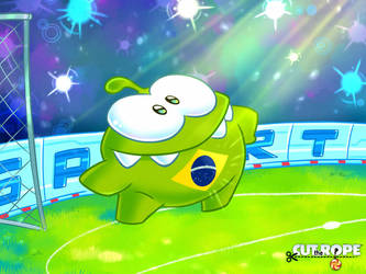 Cut The Rope Football 001 by Evelyn2d