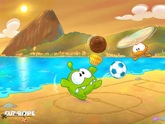 Cut The Rope Football 002 by Evelyn2d