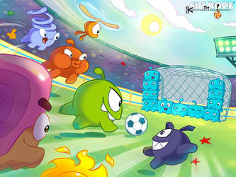 Cut The Rope Football 003 by Evelyn2d