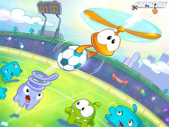 Cut The Rope Football 004 by Evelyn2d