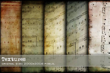 :: Music textures  :: by Liek