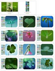 :: Calendar Clover 2009 :: by Liek