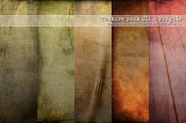 : Texture pack 016 - Fragile : by Liek