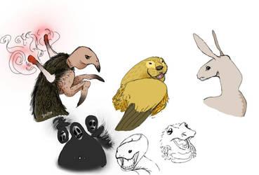 sketches by BanFia