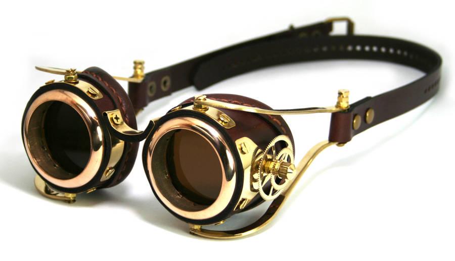 Steampunk Goggles number 2 by AmbassadorMann