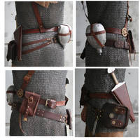 Belt Set by AmbassadorMann