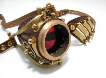 Steampunk Monogoggle 10-1 by AmbassadorMann