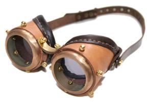 Steampunk Goggles 10-5 by AmbassadorMann