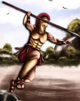 Alexios of Sparta by Dracurio