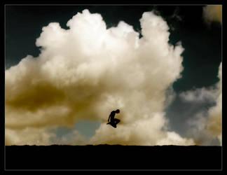 Hilltop Leap by P0RG