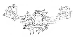 Chest piece tattoo design by ziuuziuu
